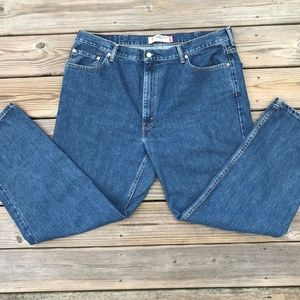 Levis 550 Men Jeans Relaxed Fit Jeans Blue Size 42